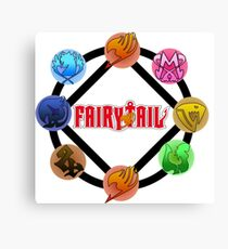Fairy tail Guilds Grand Magic Games Canvas Print