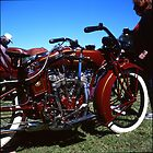 Early Indian Motorcycle by Derwent-01