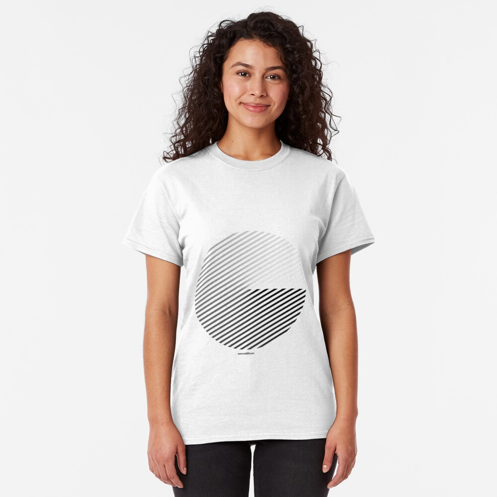 Stripes can be in a disc (BoW) Classic T-Shirt