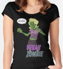 Walking Vegan Women's Fitted Scoop T-Shirt