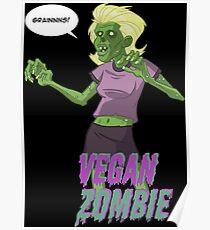 Walking Vegan Poster