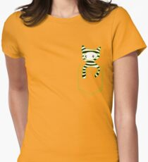 Pocketbuddy3 Womens Fitted T-Shirt