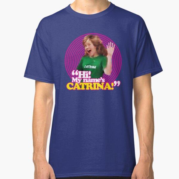 ¡Hola! Mi nombre es Catrina - Pink Windmill Kids Camiseta clásica