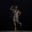 Eric Morecambe statue by night by beanphoto