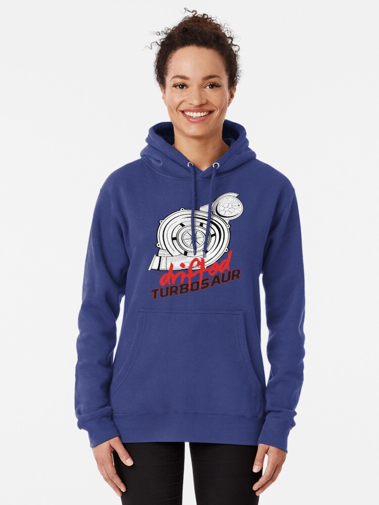 Alternate view of TURBOSAUR by Drifted Pullover Hoodie