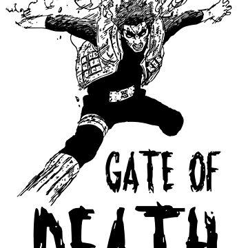 Gate Of Death Gai Sensei Naruto Shippuden by Bukeater