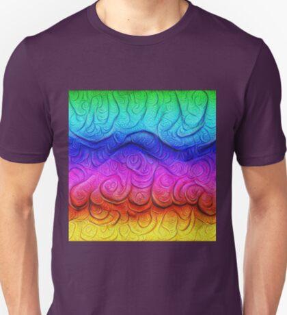 Color Foam levels #DeepDream T-Shirt