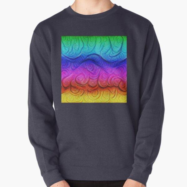 Color Foam levels #DeepDream Pullover Sweatshirt