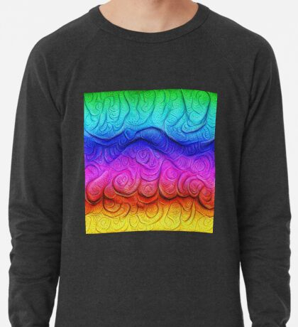 Color Foam levels #DeepDream Lightweight Sweatshirt