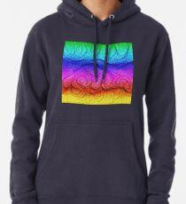 Color Foam levels #DeepDream Pullover Hoodie