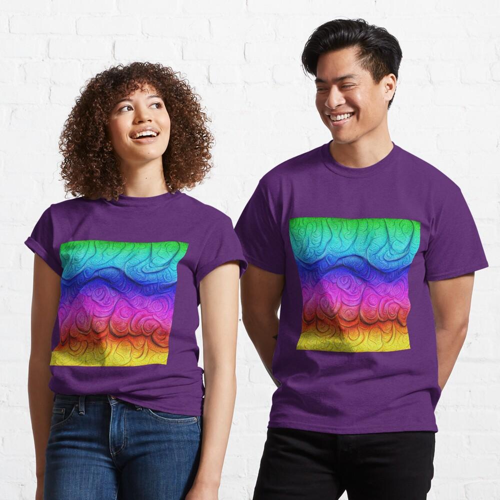 Color Foam levels #DeepDream Classic T-Shirt