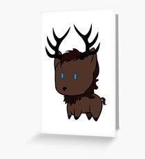 My little Baratheon Greeting Card