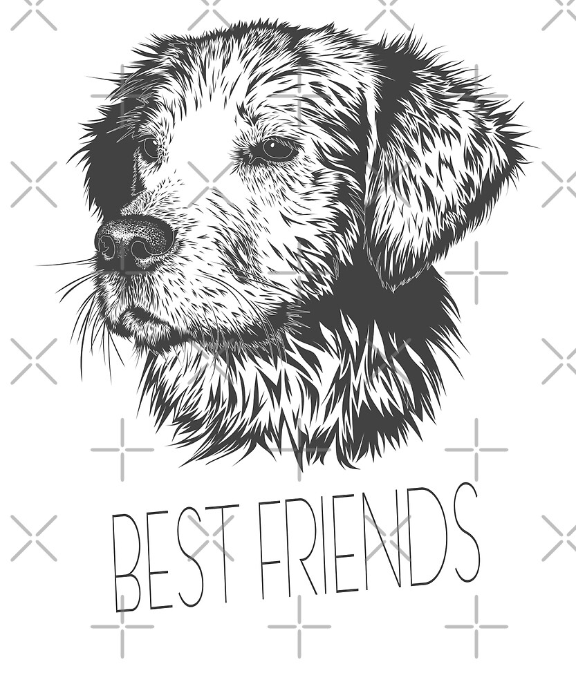Dog Best Friend by Dascalescu