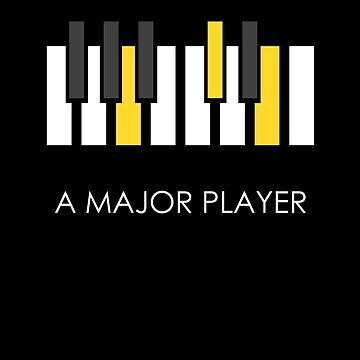A Major Player White by Oomazing