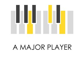 A Major Player Black by Oomazing