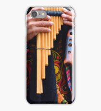 Pan pipes iPhone Case/Skin