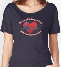 Cute enough to stop your heart, skilled enough to restart it Women's Relaxed Fit T-Shirt