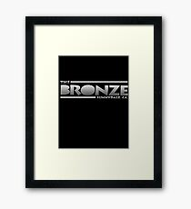 The Bronze at Sunnydale (Buffy the Vampire Slayer) Silver Framed Print