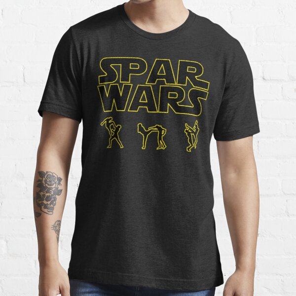 SPAR WARS TAEKWONDO MMA KARATE Essential T-Shirt