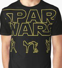SPAR WARS TAEKWONDO MMA KARATE Graphic T-Shirt