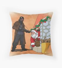 Omar Little strikes again Throw Pillow