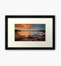Kiama Rock Pools Sydney Framed Print