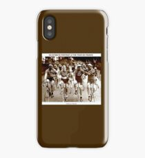 TOUR DE FRANCE; Vintage Cycle Racing Advertising Photo iPhone Case/Skin