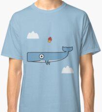 FALLING WHALE Classic T-Shirt