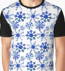 Winter design with snowflakes Graphic T-Shirt