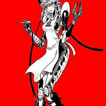 Takoyaki Shop Mosquito Mädchen ver.rot von Schwaz
