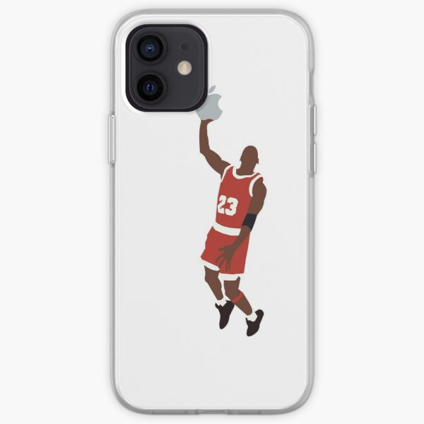 Michael Jordan dunking an Apple iPhone Soft Case