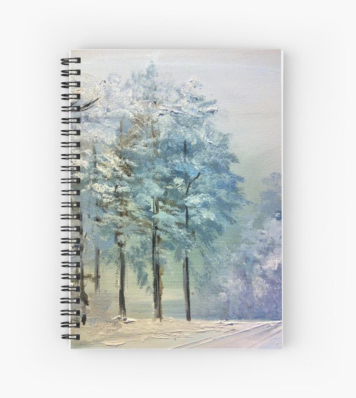 Winter trees by Milartis