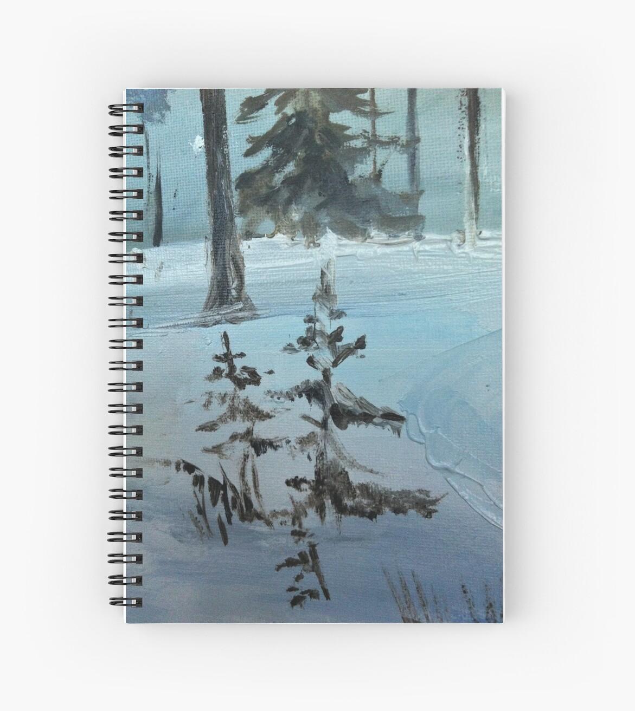 Snowy spruce by Milartis
