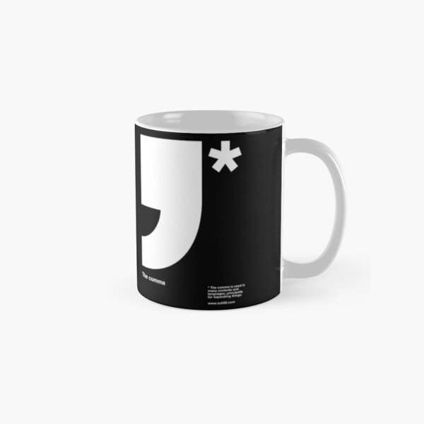 Comma Classic Mug