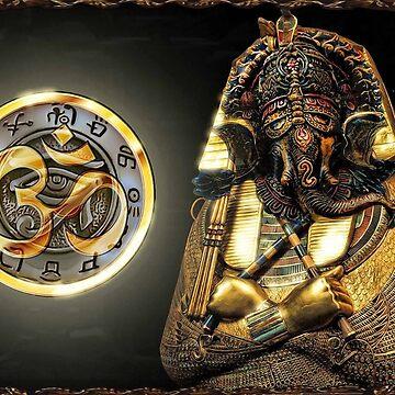 Godisnowhere666 - Ohm Indian Elephant Egyptian mashup by godisnowhere666