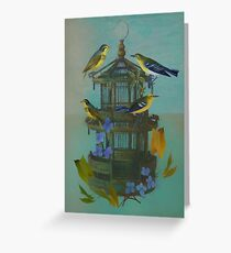 The Bird Cage Greeting Card