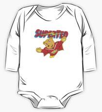 Body de manga larga para bebé Super Ted