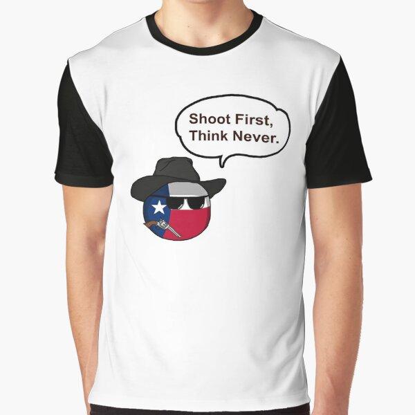 Countryballs de Texas Camiseta gráfica