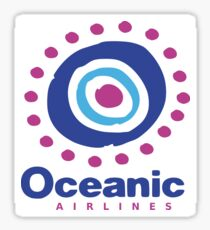 Oceanic Airlines 815 Sticker