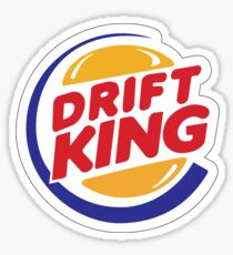 Drift King - sticker Sticker