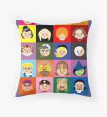 Broadway Cuties Throw Pillow