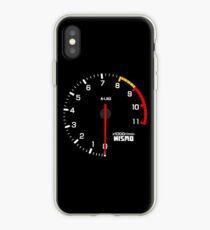 NISSAN スカイライン (NISSAN Skyline) R33 NISMO rev counter iPhone-Hülle & Cover