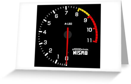 NISSAN N カ イ ン ン (NISSAN Skyline) R33 NISMO rev counter by officialgtrch