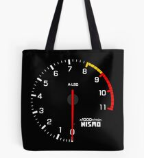 NISSAN N カ イ ン ン (NISSAN Skyline) R33 NISMO rev counter Tote Bag