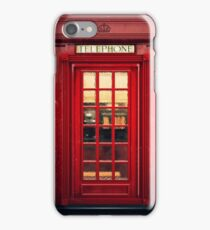 Magical Telephone Booth iPhone Case/Skin