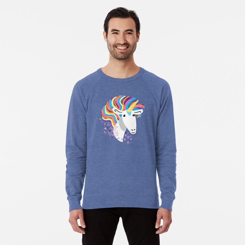 completely love this unicorn Lightweight Sweatshirt