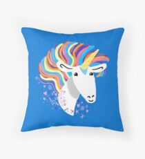 completely love this unicorn Throw Pillow