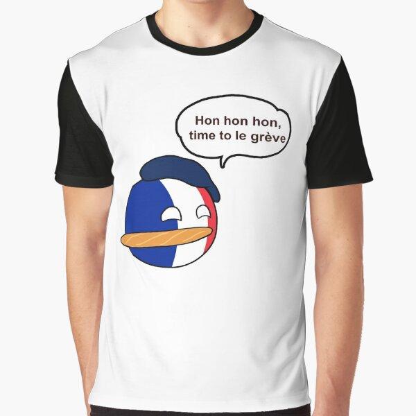 Countryballs: Francia Camiseta gráfica