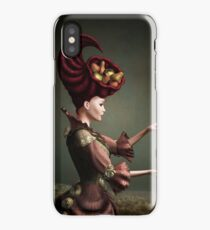 Madam Fruit and the levitating pear iPhone Case