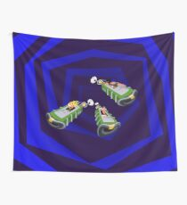 Day of the Tentacle - Time Machine  Wall Tapestry